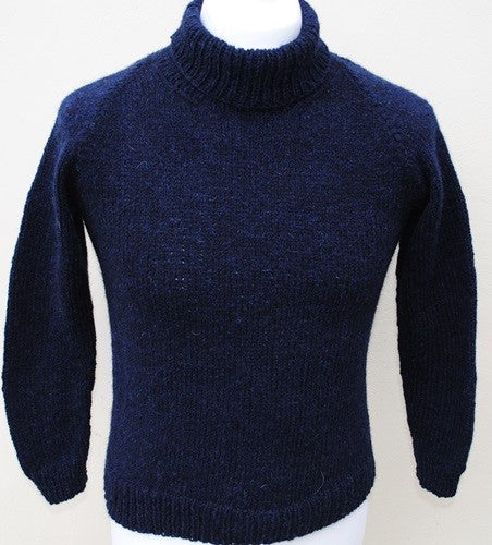 Roll Neck Wool Jumper