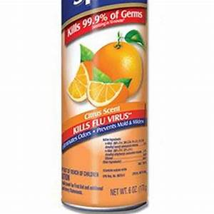DISINFECTANT SPRAY CITRUS