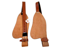 Rough Out Leather Western Saddle Fender Replacement Horse Hobble Strap
