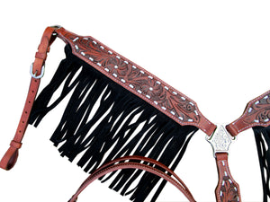 western headstall breast collar set