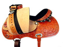 Barrel Western Saddle Horse Trail Racing Show Stone Studded 15 16 17