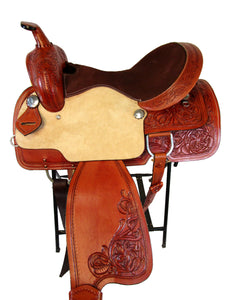 Trail Western Saddle Barrel Racing Show Tack Set 15 16 Pleasure Horse