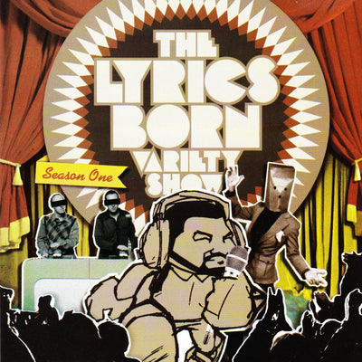 The Lyrics Born Variety Show Season 1 - Compact Disc (CD)