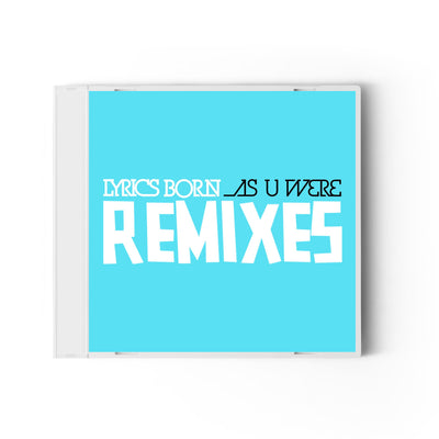 As U Were Remixes EP - Compact Disc (CD)