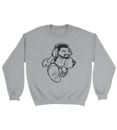 Cartoon Man Crewneck