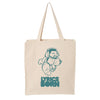 Cartoon Man Blues Tote
