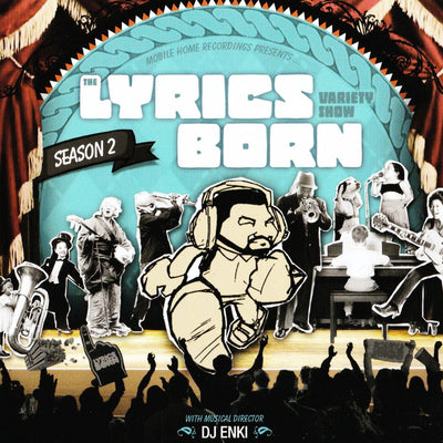 The Lyrics Born Variety Show Season 2 - Compact Disc (CD)