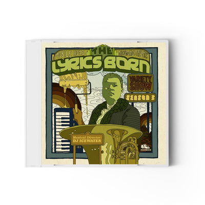 The Lyrics Born Variety Show Season 3 - Compact Disc (CD)