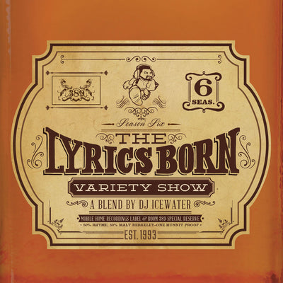 The Lyrics Born Variety Show Season 6 - Compact Disc (CD)