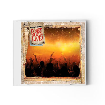 Overnite Encore: Lyrics Born LIVE! - Compact Disc (CD)