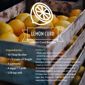 Luscious Lemon Curd