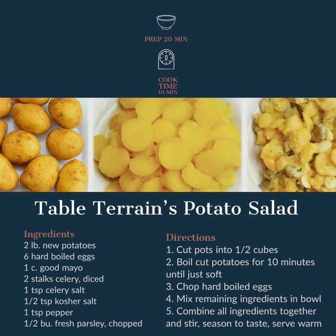 Table Terrain's Potato Salad