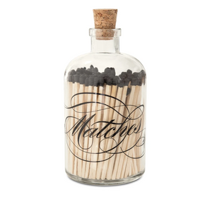 "Match Bottle - Apothecary ""Matches"", Large"