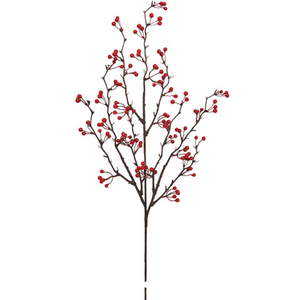 Berry Branch | Table Terrain January tablescapes, men's table decorations, kitchen table arrangements