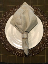 Stonewashed 100% Linen Napkins in Ecru (Set of 8) | Table Terrain winter table centerpieces, simple candle centerpieces, inexpensive table centerpieces