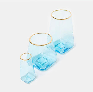 Glasses, Blue Highball (Set of 6)