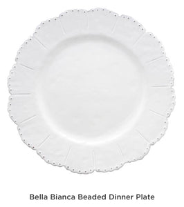 Plate, Bella Bianca (Set of Four)