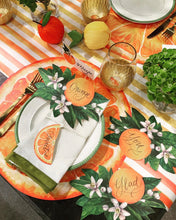 Placemats, Orange Slice Paper (Set of 12)