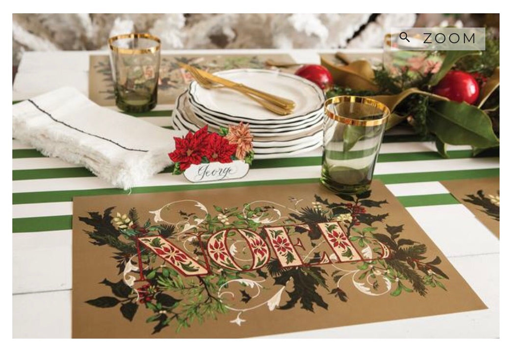 Placemats, Noel Paper (Set of 24)