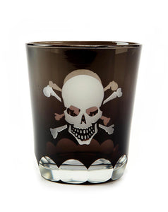 Glasses, Rocks Skull and Crossbones (Set of 4)