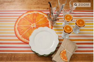 Place cards, Orange Slice