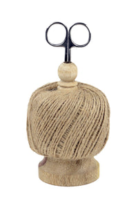 Jute-Twine String Ball and Scissors Set