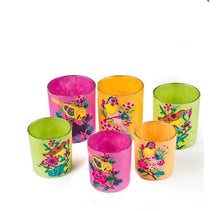 Votives, Glass and Paper Mache (Set of 3)