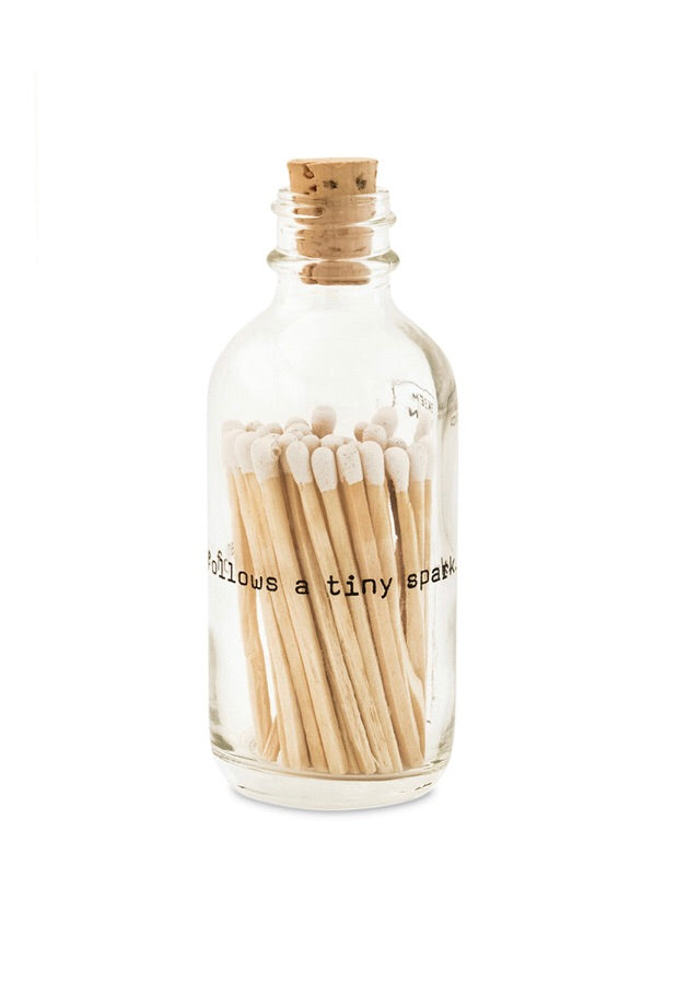 Apothecary Small Match Bottle-A mighty flame... | Table Terrain January tablescapes, men's table decorations, kitchen table arrangements