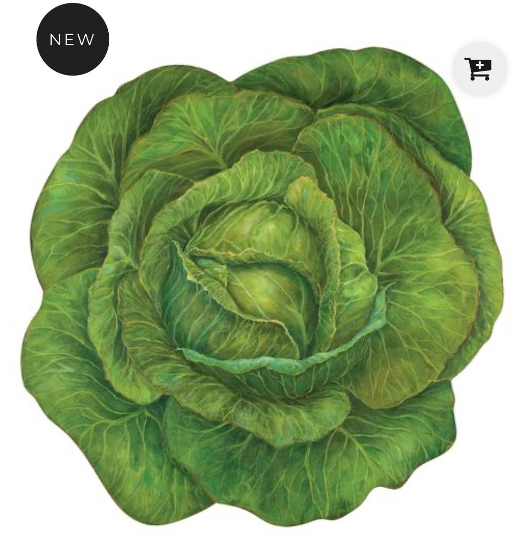 Placemats, Cabbage Paper (Set of 12)