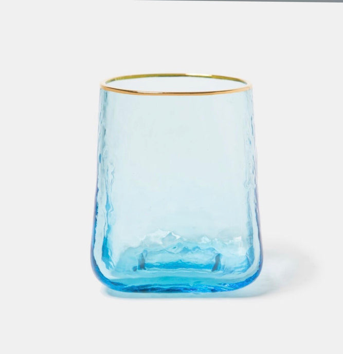 Glasses, Blue Rocks (Set of 6)