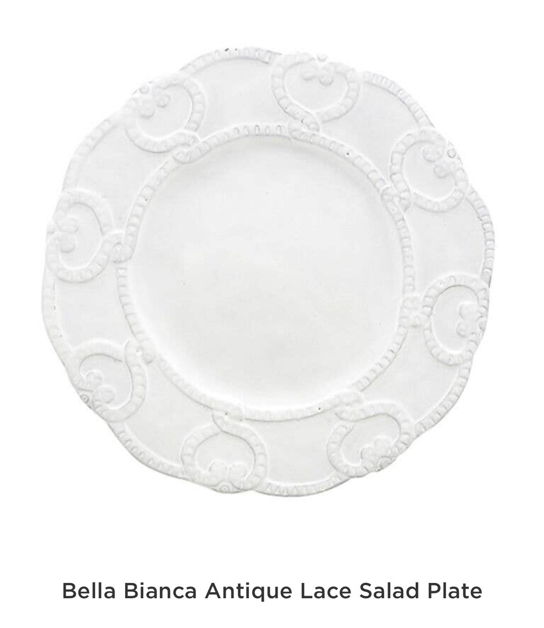 Plate, Salad Bella Bianca (Set of 4)