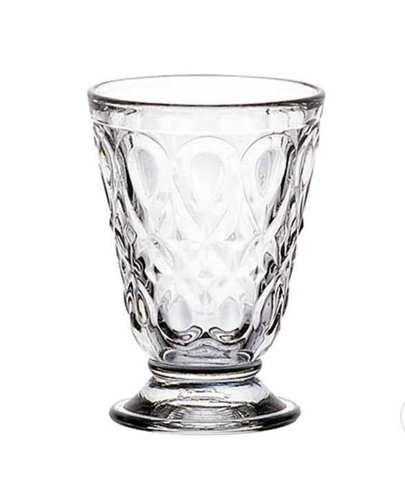 Goblets, Clear Glass Tumbler (Set of 6)