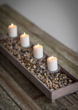 Weathered Candle and Centerpiece Planter | Table Terrain build your own tablescape, custom tablescapes, modern table centerpieces, elegant table centerpieces