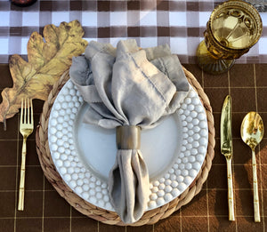 Legends of the Fall Tablescape Kit Green Oakleaf
