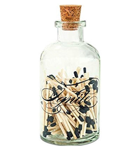 Apothecary Medium Match Bottle-Ignite