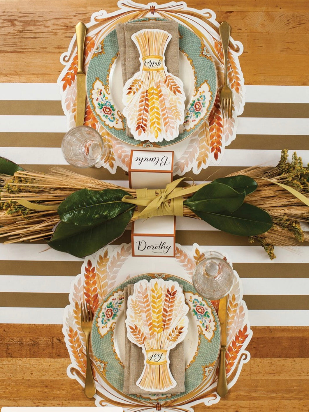 Placemat, Fall Harvest Paper (Set of 12)