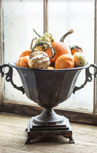 Distressed Black Urn | Table Terrain build your own tablescape, custom tablescapes, modern table centerpieces, elegant table centerpieces