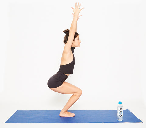 10 yoga poses to reduce stress asap  core hydration