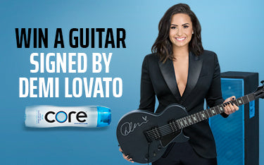 Win a Signed Guitar Signed by Demi Lovato