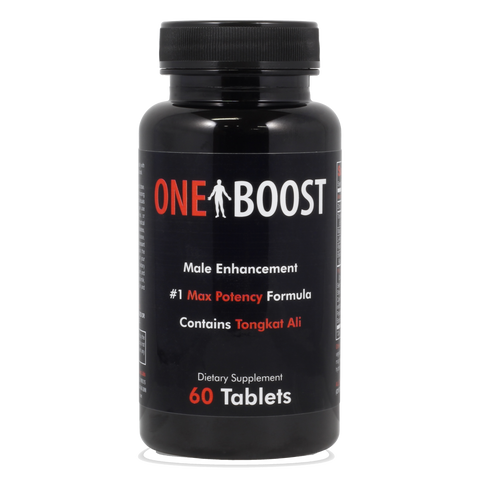 One Boost Premium Test Booster Support- USA Made - Blended For Performance & Max Energy