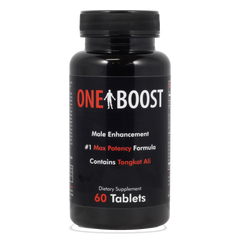 One Boost Premium Test Booster Support- USA Made  - Blended For Energy & Performance