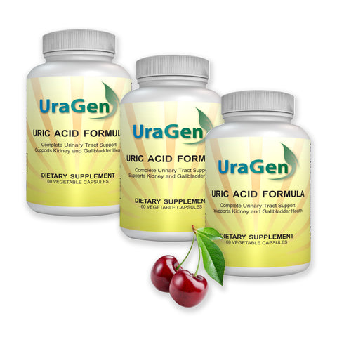 Uragen - Uric Acid Support, 60 Veggie Caps