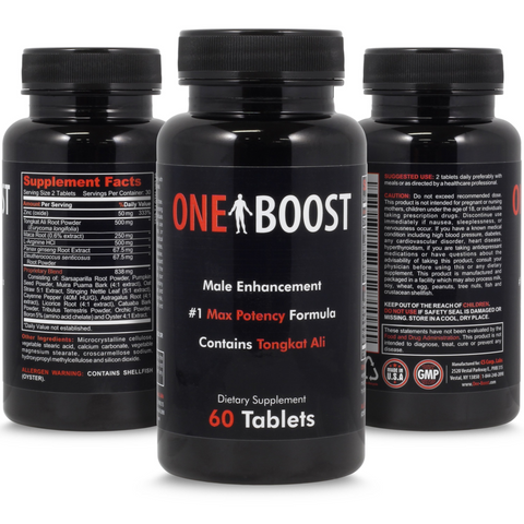 One Boost - 3 Bottles (special)