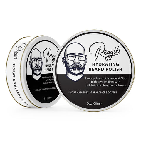 Reggies Hydrating Bear Polish Unique Hand Crafted Balm & Conditioning Beard Appearance Booster