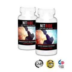 Nitride Premium Nitric Oxide Booster -  Blended For Energy, Strength, Performance & Blood Flow Support
