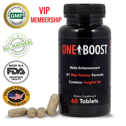 One Boost VIP CLUB w/ Credit: 2 bottles auto. shipped every 60 days (only after your once your current supply runs out)