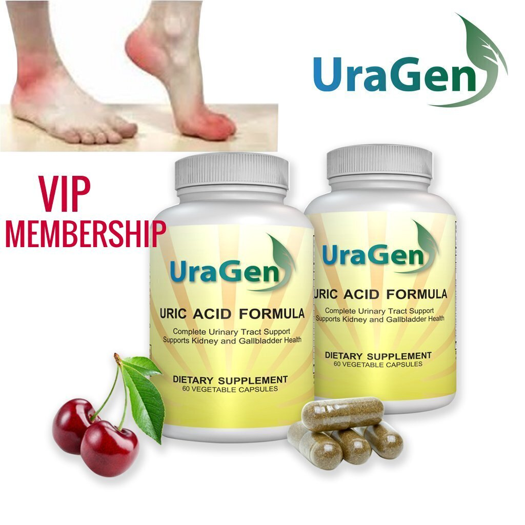 UraGen VIP CLUB w/CREDIT: 2 bottles auto. shipped every 60 days (only after your once your current supply runs out)