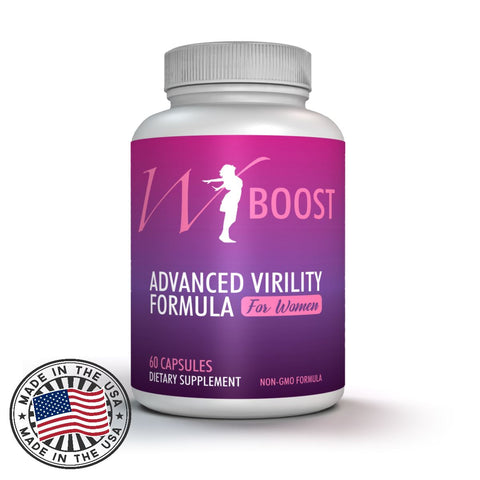 W-Boost Fem T Booster & Performance, 60 Veggie Caps