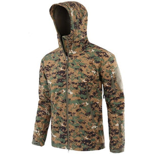 Lurker Shark Skin V 4.0 Military Tactical Softshell Jacket Men Windbreaker Waterproof Hoodie Clothes