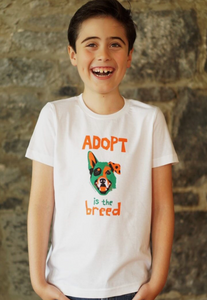 Adopt Boys White T-Shirt